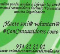 UCE - Campaña voluntariado social de consumo