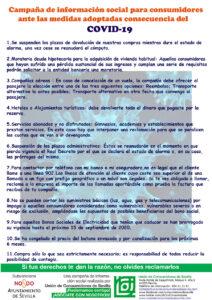UCS – Cartel Coronavirus Ayuntamiento Sevilla